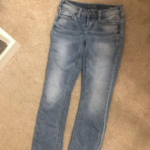SILVER Skinny bootcut jeans